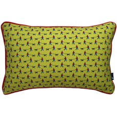 Dog Walker Cushion Chartreuse