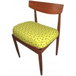G Plan Chair - Chartreuse