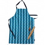 Ruby and Lola Apron (Teal)